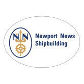 Large Magnet-Newport News Shipbuilding, 12 inches wide