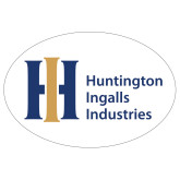 Extra Large Magnet-Huntington Ingalls Industries, 18 inches wide