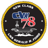 Extra Large Magnet-CVN 78, 18 inches tall