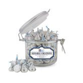 Kissable Creations Small Round Canister-Huntington Ingalls Industries