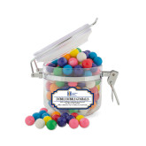 Dubble Bubble Gumballs Small Round Canister-Huntington Ingalls Industries