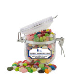 Jelly Belly Small Round Canister-Huntington Ingalls Industries