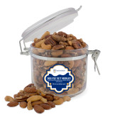 Deluxe Nut Medley Round Canister-Newport News Shipbuilding