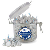 Kissable Creations Round Canister-Huntington Ingalls Industries