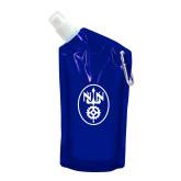 28 oz. Translucent Blue Collapsible Bottle-