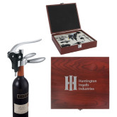 Executive Wine Collectors Set-Huntington Ingalls Industries Engraved
