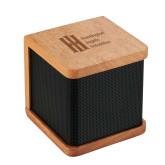 Seneca Bluetooth Wooden Speaker-Huntington Ingalls Industries Engraved