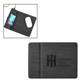 Ronan Black Wireless Charger Mouse Pad-Huntington Ingalls Industries Engraved