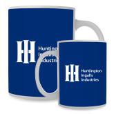 Full Color White Mug 15oz-Huntington Ingalls Industries