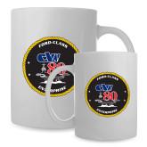 Full Color White Mug 15oz-CVN 80