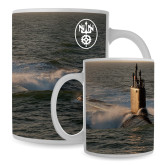 Full Color White Mug 15oz-NNS Design 2