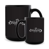 Full Color Black Mug 15oz-SSN 789