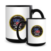 Full Color Black Mug 15oz-CVN 80