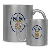 Full Color Silver Metallic Mug 11oz-Icon