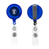 Blue Retractable Badge Holder-Icon
