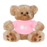 Plush Big Paw 8 1/2 inch Brown Bear w/Pink Shirt-Huntington Ingalls Industries