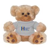 Plush Big Paw 8 1/2 inch Brown Bear w/Grey Shirt-Huntington Ingalls Industries