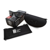 Under Armour Zone 2.0 Storm Black Sunglasses-Huntington Ingalls Industries