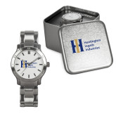 Mens Stainless Steel Fashion Watch-Huntington Ingalls Industries