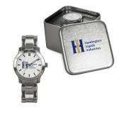 Ladies Stainless Steel Fashion Watch-Huntington Ingalls Industries