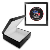 Ebony Black Accessory Box With 6 x 6 Tile-CVN 79