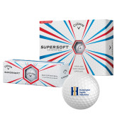Callaway Supersoft Golf Balls 12/pkg-Huntington Ingalls Industries