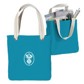 Allie Turquoise Canvas Tote-Icon