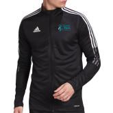 Adidas Black Tiro 19 Training Jacket-Primary Mark Stacked