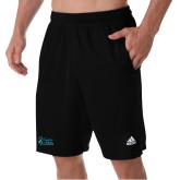 Adidas Black Clima Tech Pocket Short-Secondary Mark Stacked