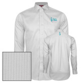 Red House White Dobby Long Sleeve Shirt-Secondary Mark Stacked