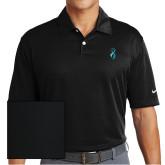 Nike Dri Fit Black Pebble Texture Sport Shirt-Ribbon