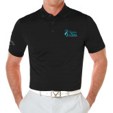 Callaway Opti Vent Black Polo-Secondary Mark Stacked