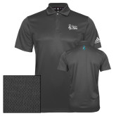 Adidas Climalite Charcoal Grind Polo-Secondary Mark Stacked