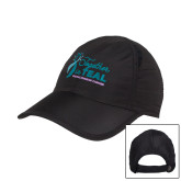 Black Performance Cap-Secondary Mark Stacked