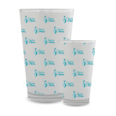 Full Color Glass 17oz-Primary Logo Repeating Pattern