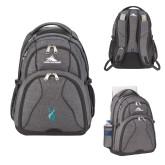 High Sierra Swerve Graphite Compu Backpack-Ribbon