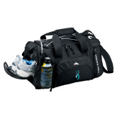 High Sierra Black Switch Blade Duffel-Secondary Mark Stacked