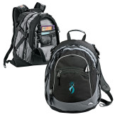 High Sierra Black Titan Day Pack-Secondary Mark Stacked