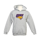 Northern Iowa Youth Gold Fleece Hoodie Track and Field
