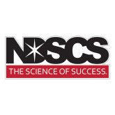 Large Decal-NDSCS w/ Science of Success Tagline, 12 inches wide
