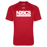 Under Armour Red Tech Tee-NDSCS w/ Science of Success Tagline