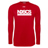 Under Armour Red Long Sleeve Tech Tee-NDSCS w/ Science of Success Tagline