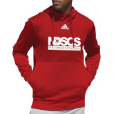 Adidas Red Team Issue Hoodie-NDSCS w/ Science of Success Tagline