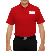 Under Armour Red Performance Polo-NDSCS w/ Science of Success Tagline