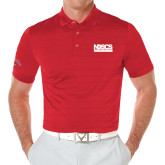 Callaway Opti Vent Red Polo-NDSCS w/ Science of Success Tagline