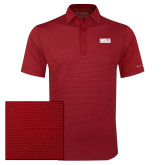 Columbia Red Omni Wick Sunday Golf Polo-NDSCS w/ Science of Success Tagline