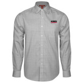Red House Grey Plaid Long Sleeve Shirt-NDSCS w/ Science of Success Tagline
