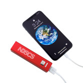 Aluminum Red Power Bank-NDSCS Engraved