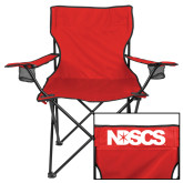 Deluxe Red Captains Chair-NDSCS