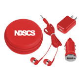 3 in 1 Red Audio Travel Kit-NDSCS